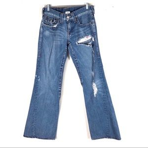 True Religion jeans JOEY 32x34 distressed pants